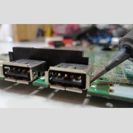 Acer Aspire 1610 USB csatlakozó hiba, törött USB csatlakozó javítás, alkatrész, szerviz