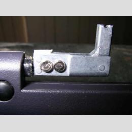 LG U460 zsanér és burkolati elem törés